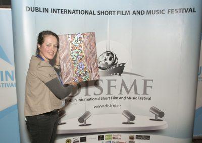 Dede Maitre winner of Best Documentary