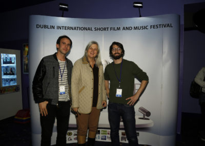 Francois Barbier director of Istoria Lumina & producer Steven Martin, France