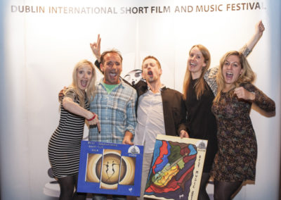 Happy winners David Lueza Best International Short and David Garnier Best Music
