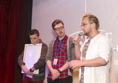 Jonathan Farrelly, Mark Smith and Dave Thorpe
