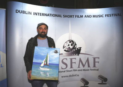 Mike Hayes, Winner Best Irish Short for Leave