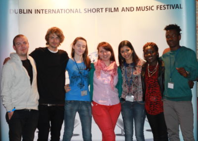 Mix up of Filmmakers, Volunteers and Organizers