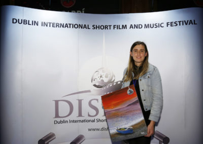 Producer Jenae Carpenter, winner of Best Sound Design for Silence, Australia